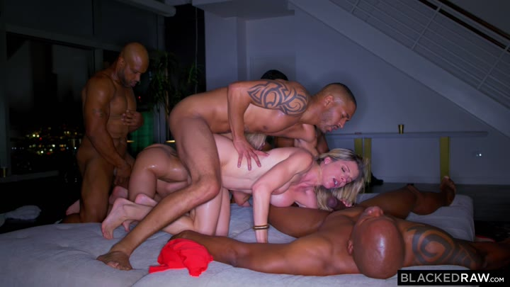 BlackedRaw Cory Chase And Brandi Love BBC Club